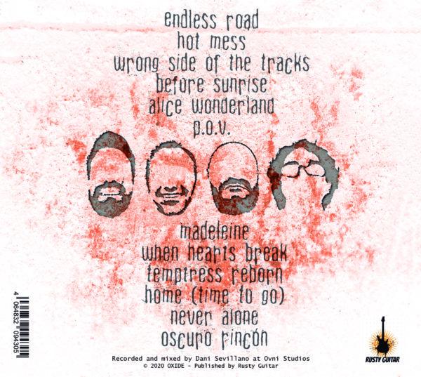 Endless Road CD back